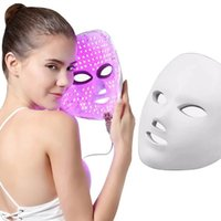 7 Color PDT Therapy Machine For Skin Rejuvenation Photon Yellow Red Light Led Facial Mask Beauty Equipment Home Use