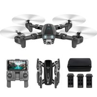 Mini Drone CSJ S167 Katlanabilir RC Drone GPS Kamera ile 4 K 5G Wifi FPV Drone Uzaktan Kumanda Oyuncak RC Quadcopter Helikopter Oyuncaklar