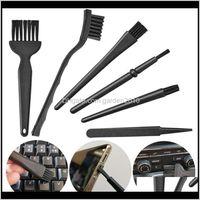 6 adettakım Taşınabilir Temizleme Fırçaları Cep Telefonu için Antistatik Fırça Seti PC Anakart Devre Kartı Flux Pasta BGA Tamir Araçları U8CKD ELCZP
