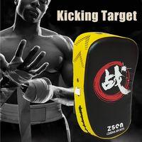 Kick Boxing Pad Punching Sand Bag Foot Arc Target Mitt MMA Sparring Muay Thai Sanda Taekwondo Training Gear
