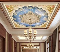 walpaper for room 3d ceiling Pattern sky photo wall paper mural wallpaper mural 3d ceilings