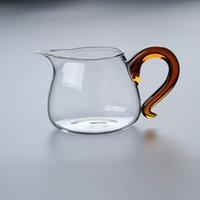 Weingläser 350ml Hitzebeständige Glas Fair Becher Servierbecher Tiefaufnahme TOP TOP Tee Filter Geschenk TeeSet Chinesische Kungfu Teaware