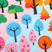 Other Festive & Party Supplies Creative Forest Small Tree Cake Topper Happy Birthday Baby Shower Dessert Decor Wedding Decoration