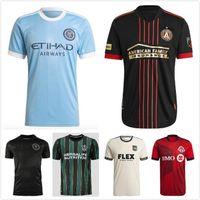 MLS 20 21 Atlanta United Fc Soccer Jersey 2021 2022 La Galaxy Football Shirts Version du joueur Inter Miami CF Tops Beckham Chemise