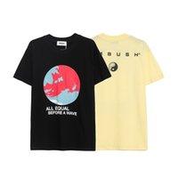 Hip Hop Ambush T Gömlek Erkek Kadın Kaliteli Rahat Pamuk Toprak Baskı Yüksek Sokak T-shirt Top Tees