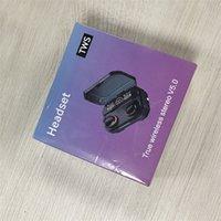 Wirless Kulaklık Kulaklık Şeffaflık Metal Rename GPS Kablosuz Şarj Bluetooth Kulaklıklar Üretim Kulak IN-Kulak Algılama Cep Telefonu için% 50 KAPALI