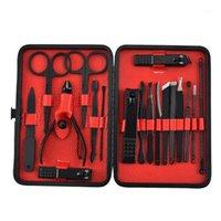 4-18 PCS Professionale Unghie Taglierina Forbici per Pedicure Impostare l'acciaio inox Aquila Gancio Portatile Manicure Clipper Set1 Set1