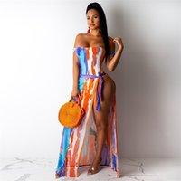 Повседневные платья бикини юбки из двух частей платья роскоши дизайнерская одежда женщина гимназная одежда пополнить плотный сексуальный печатный купальник весна и сумма