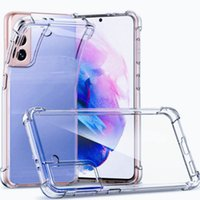 1.0mm Soft Transparent Air Cushion Shockproof Design TPU Material Phone Cases For iPhone 11 Pro Max X Xr 7 Plus Samsung Note 8 9 S8 S9