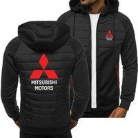 Men's Hoodies & Sweatshirts 2021 Fashion Mitsubishi Motors Logo Spring Autumn Casual Sweatshirt Long Sleeve Zipper Jacket Hoody