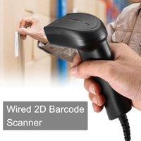 برنامج Bluetooth اللاسلكي الباركود الماسح الضوئي والسلكية 1D / 2D QR Bar Reader PDF417 للماسحات الضوئية لصناعة الدفع عبر الهاتف المحمول