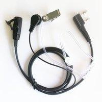 10x 2PIN Słuchawki Słuchawki Zestaw Słuchawkowy PTT MIC do Kenwood Walkie Talkie Radio TK-3107, TK-3118, TK-3130, TK-3131, TK3160, TK-3170