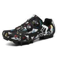 Bisiklet Ayakkabı Kamuflaj Ayakkabı Erkekler Sneakers Sapatilha Ciclismo MTB Kadınlar Dağ Bisikleti Bisiklet Atletik Yarış