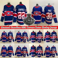 Montreal Canadiens Jersey 2021 Finale Reverse Retro 22 Cole Caufield 14 Nick Suzuki 31 Carey Preis 73 Toffoli 11 Brendan Gallagher Hockey Trikots