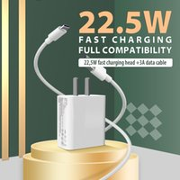 22.5W Fast Charger use for 3A type C phone cable High Speed support 9V 2A output charging fully compatible with various models