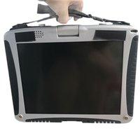ستار أداة تشخيص البرمجيات ل MB SD C4 C5 C5 C6 HDD 320GB SSD 360GB مع شاشة Laptop Toughbook CF19 شاشة تعمل باللمس