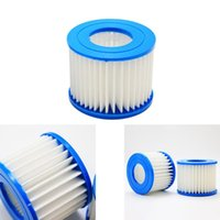 Pool & Accessories 6Pcs Tub Filter Cartridge Multifold Swimming Replacement Net