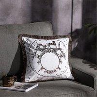 retro classic Decorative Pillow high quality blended cushion designer Home sofa car pillowcase