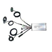 도구 36V / 48V 500W 22A, 브러시리스 DC EBIKE 컨트롤러 + KT-LCD6 디스플레이 + 손가락 다이얼 + 센서 1 세트, 키트 용