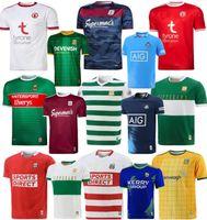 20 21 Irlanda Dublino Cork Rugby Jerseys 2021 GAA Galway Kerry Limerick Shirt Mayo Meath Tipperary Tyrone Sports Jersey