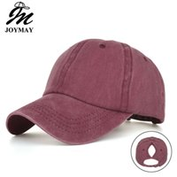 8-color Spring and summer ponytail new light version hole washing old baseball cap sunshade outdoor sun hat b6