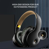Bluetooth Headphones HIFI Stereo Wireless Earphone Gaming Headsets Over-ear Noise Canceling with Mic Deep Bass