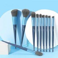 Makeup Brushes 10PCS Set Eye Professional Foundation Eyeshadow Make Up Full Of Portable Brush