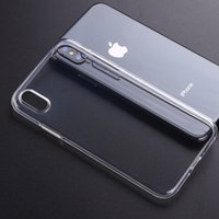 For iPhone 11 12 13 Pro Max Xs Xr 7 8 plus TPU Soft Phone Cases Protect Camera Cover Crystal Clear Transparent Silicon Ultra Thin Slim Shell