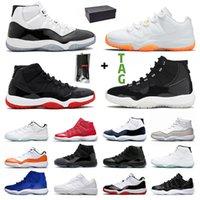 retro 11 AJ  11s XI 25 Aniversario 11s 2020 nuevas llegadas mujeres de los hombres zapatos de baloncesto Concord 11 Bred XI Space Jam Zapatillas