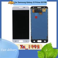 """Panneaux de téléphone portable Panneaux Top Qualité de la qualité supérieure 5.0 """"pour Samsung J5 Prime G5700 LCD Écran LCD Affichage de remplacement Digitizer"""