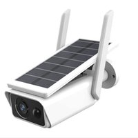Solar Monitoring Camera IP66 Impermeabile Night Detection Detection SD Card AP Spot Connection for Home / Company Outdoor IP Telecamere