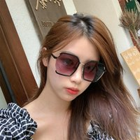 Sunglasses Polygonal Women Designer Metal Irregular Glasses Ladies Anti Ultraviolet Sun UV400 Color