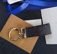 High Quality Key Designer Schnalle Ring Halter Schlüssel Kette Porte Clef Geschenk Herren- und Womens Souvenir-Auto-Tasche mit Kasten