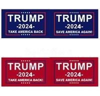 Trump Flag US Presidentval 2024 Ta Amerika Tillbaka Kampanj Banner Rolig Garden Flag Republican Flags Billigste