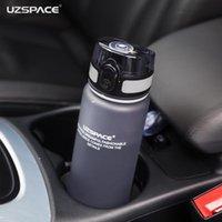 Garrafas de água 2021 Uzspace Movimento portátil Minha garrafa tritan BPA grátis plástico para esportes camping caminhadas 500 / 650ml