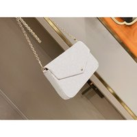 En Kaliteli Luxurys Tasarımcılar Moda Crossbody Bagseevening Çanta Mini Paket Messenger Baglady Omuz Çantası Kart Sahibinin Çanta Mini Çanta 3-piece Set # 08