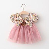 Sommer Prinzessin Baby Mädchen Kleid Party Geburtstag Tutu Kleid Floral Taufe Kleider für Mädchen Kleidung Y Neugeborene Kleidung Vestido