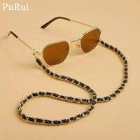 Purui نظارات القراءة سلسلة للنساء النظارات النظارات الحبل النظارات المعدنية الحبل عقد الأشرطة النظارات التجنيب الأزياء والمجوهرات