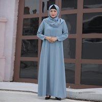 Abaya Hijab Müslüman Moda Elbise Suudi Arabistan Kadınlar Için Afrika Elbiseler Kaftan Dubai Kaftan İslam Giyim Robe Musulman de Mode