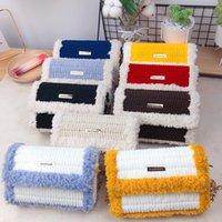 Luxurys tecido tecido diy luxurys bagsbagshand mão fez yuya mater material para menina amigo ao ombro