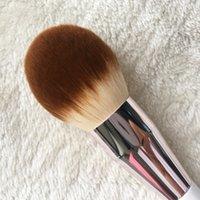 Pennello in polvere La Mer-morbido Capelli sintetici Grande Polvere Finish Flawless - Beauty Makeup Brushes Blender