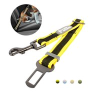 Nylon Pet Dog Cat Car Safety Belt Adjustable Vehicle Seat Lead Leash Harness Traction Rope Supplies Suitable for most cars