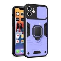 Ring Support Phone Bumper Cases Case With Metal Plate For iPhone 13 12 11 Pro Max XsMax Xr 7plus 8plus