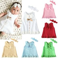 Baby infant Neugeborenen Mädchen Sommerkleid Stirnband Kostüm Foto Fotografie Requisiten Kleidung