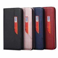 Cell Multicard Slot Leather Wallet Phone Case For Samsung Galaxy S20 S10 Plus S9 S8 S7 Edge Note 20 Ultra A91 A81 Cover Cases Aigpi Utuhk