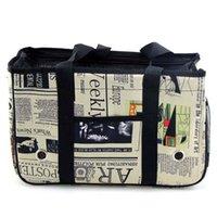 Портативные домашние собаки кошек сумка носитель мягкая сторона сетки дышащий щенок сумки для собак с кулонкой автомобильные крышки