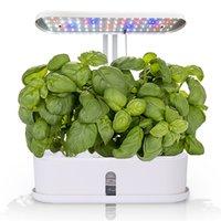 화분 냄비 책상 램프 수경 실내 정원 키트 스마트 다기능 성장 꽃, 과일 및 야채 식물 성장 빛을위한 LED