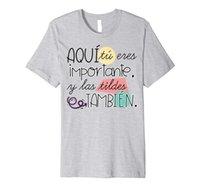 Tu Eres Importante y Las Tildes Tambien T-Shirt