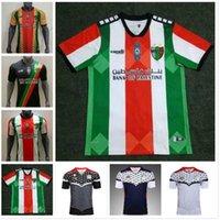 2021 Palestina Fútbol Jersey 21 22 Calidad tailandesa Palestinos Palestinos Palestinos Palestino Rosenda Camisa de Fútbol