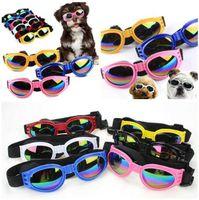 لوازم كلب أخرى 6 ألوان طوي متوسطة كبيرة نظارات الحيوانات الأليفة نظارات مضادة للماء نظارات الحماية الأشعة فوق البنفسجية الحرة K7XB